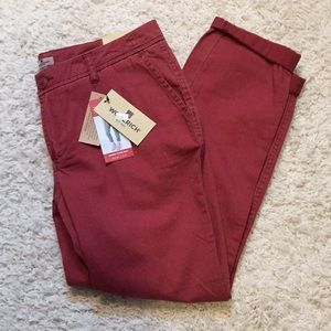 Woolrich Red Sunday Chino NWT Size 6